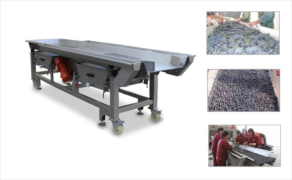 grape-vibrating-sorting-machine-grape-sorting-table